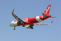 HS-BBJ Airbus A320-200 de Thaiairasia Photo stock