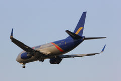 HS-BRC东方泰国航空公司波音737-300  免版税库存图片