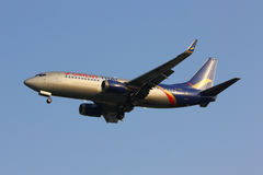 HS-BRC Boeing 737-300 de la línea aérea tailandesa de Oriente imagenes de archivo