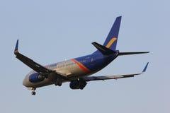 HS-BRC Boeing 737-300 de la línea aérea tailandesa de Oriente imágenes de archivo libres de regalías