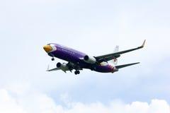 HS-DBA boeing 737-800 av Nokair Arkivbild