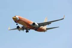 HS-DBF Boeing 737-800 da linha aérea barata de NokAir Imagem de Stock