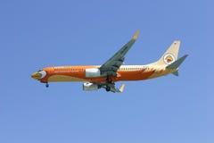 HS-DBF Boeing 737-800 da linha aérea barata de NokAir Imagens de Stock Royalty Free