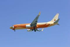 HS-DBF Boeing 737-800 da linha aérea barata de NokAir Fotos de Stock