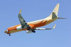 HS-DBF Boeing 737-800 da linha aérea barata de NokAir Imagem de Stock Royalty Free