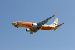 HS-DBF Boeing 737-800 de ligne aérienne de petit prix de NokAir Images libres de droits