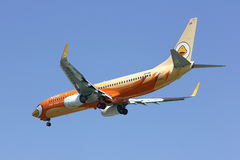 HS-DBF Boeing 737-800 de ligne aérienne de petit prix de NokAir Photo stock
