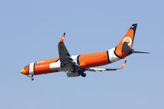 HS-DBH Boeing 737-800 di NokAir Fotografie Stock