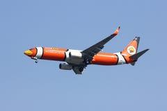 HS-DBH Boeing 737-800 von NokAir Stockbild