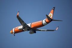 HS-DBJ Boeing 737-800 mit Flügelspitze von NokAir Stockfoto