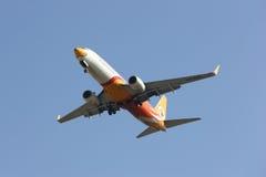 HS-DBL Boeing 737-800 de NokAir Images libres de droits