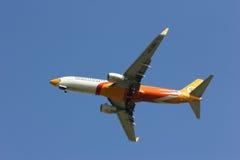 HS-DBL Boeing 737-800 de NokAir Photos libres de droits