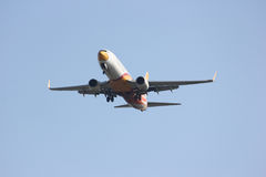 HS-DBL Boeing 737-800 von NokAir Stockfotos