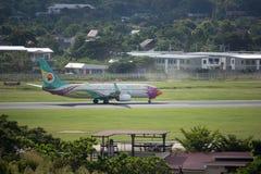 HS-DBQ Boeing 737-800 de NokAir Image stock