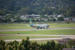 HS-DBQ Boeing 737-800 de NokAir Images stock