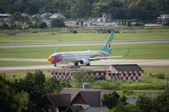 HS-DBQ Boeing 737-800 de NokAir Photographie stock