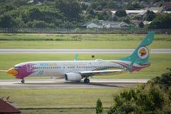 HS-DBQ Boeing 737-800 NokAir Obrazy Royalty Free