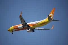 HS-DBT Boeing 737-800 di NokAir Fotografie Stock
