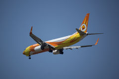 HS-DBT Boeing 737-800 di NokAir Immagine Stock