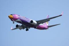 HS-DBU Boeing 737-800 av NokAir Royaltyfria Bilder