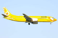 HS-DDH Boeing 737-400 of NokAir airline Stock Image