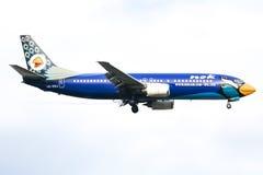 HS-DDJ Boeing 737-400 of NokAir airline Royalty Free Stock Image