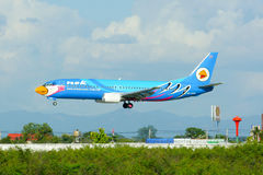 HS-DDM  Boeing 737-400 of NokAir airline Stock Photos