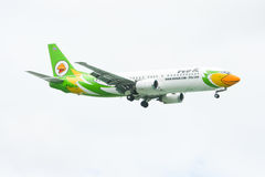 HS-DDQ Boeing 737-400 of NokAir airline Stock Photo