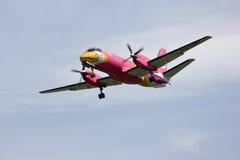 HS-GBD Saab340 Nokmini airline. Saab 340 of Nokmini airline, landing to chiangmai airport Stock Photography