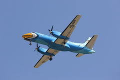 HS-GBH Saab340 of Nokmini airline Stock Photo
