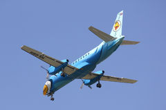 HS-GBH Saab340 of Nokmini airline Stock Photography