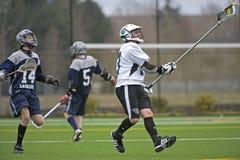 HS Lacrosse Stock Photo