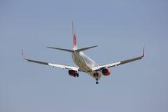 HS-LTH Boeing 737-900ER de ligne aérienne thaïlandaise de lionair Images libres de droits