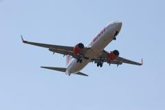HS-LTH Boeing 737-900ER de ligne aérienne thaïlandaise de lionair Image libre de droits