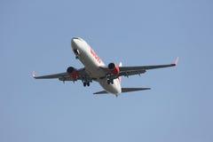 HS-LTI Boeing 737-900ER de ligne aérienne thaïlandaise de lionair Photo libre de droits