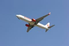 HS-LTI Boeing 737-900ER de ligne aérienne thaïlandaise de lionair Photographie stock