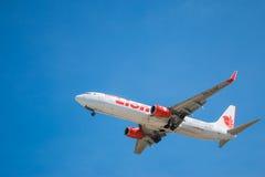 HS-LTK Lion Air tailandês Imagens de Stock