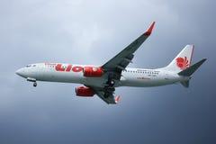 HS-LUH Boeing 737-800 da linha aérea tailandesa do lionair, Fotos de Stock Royalty Free