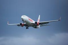 HS-LUH Boeing 737-800 da linha aérea tailandesa do lionair, Fotografia de Stock