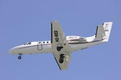 HS-MED Cessna 550 Citation Bravo of MJets. Royalty Free Stock Image