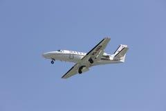 HS-MED Cessna 550 Citation Bravo of MJets. Royalty Free Stock Photography