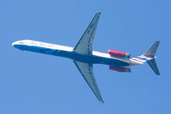 Hs-OMA M.D.-82 van Één twee gaan luchtvaartlijn Royalty-vrije Stock Foto