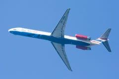 HS-OMA MD-82 de um dois vão linha aérea Foto de Stock Royalty Free