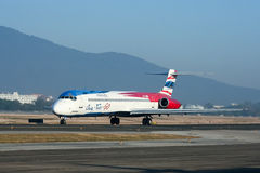 HS-OMB MD-82 de un dos van línea aérea Foto de archivo