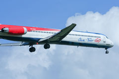 HS-OMC MD-82 of One two go airline Stock Images