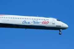HS-OMC MD-82 von einen zwei gehen Fluglinie Stockfoto