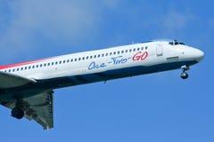 HS-OMC MD-82 von einen zwei gehen Fluglinie Stockfotos