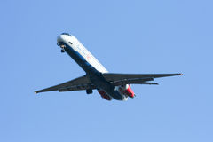 HS-OMD MD-82 of One two go airline Royalty Free Stock Images
