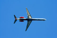 HS-OMD MD-82 of One two go airline Royalty Free Stock Photos