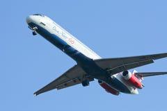 HS-OMD MD-82 von einen zwei gehen Fluglinie Stockfotografie